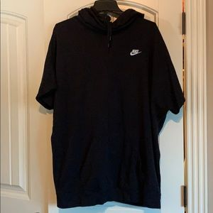 Nike short sleeve tunic style sweatshirt